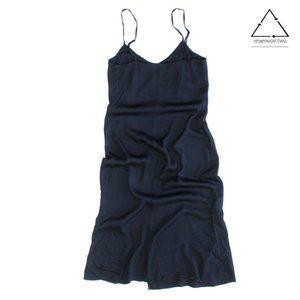 Reformation Midi Strap Side Slit Slip Dress